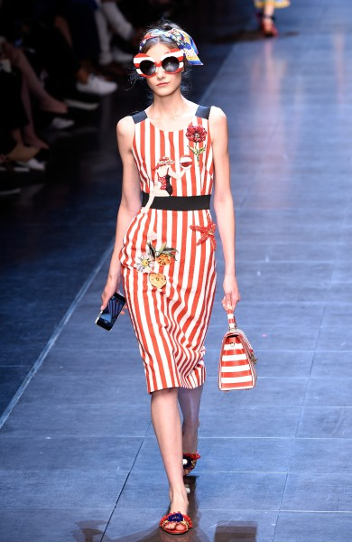dolce and gabbana stripes